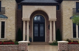Private Residence- OKC , featuring MC Iron Doors & Marvin Windows