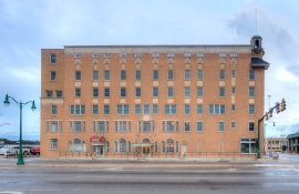 Will Rogers Hotel- Claremore OK, featuring Windsor Windows